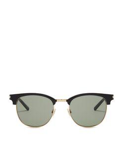 Saint Laurent | D-Frame Acetate Sunglasses