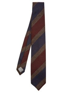 Dunhill | Striped Wool Tie