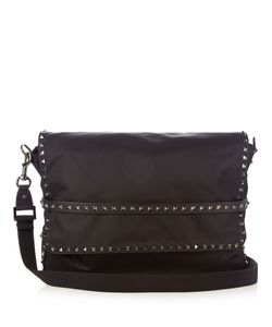 Valentino | Rockstud Nylon Messenger Bag