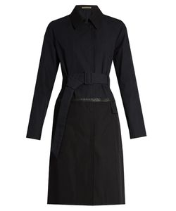 BOTTEGA VENETA | Showerproof Cotton-Blend Trench Coat