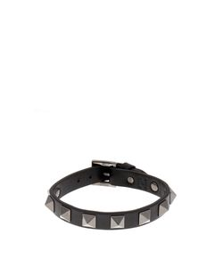 Valentino | Rockstud Leather Bracelet