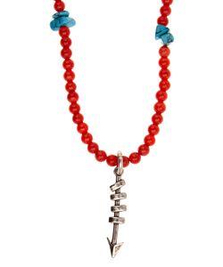 Valentino | Arrow-Pendant Bead Necklace