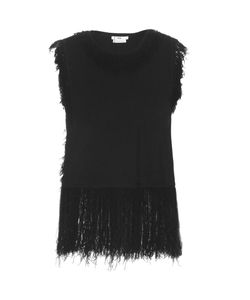 Edun | Fringed-Edge Sleeveless Top