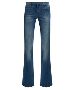 M.i.h Jeans | Marty High-Rise Flared-Leg Cropped Jeans
