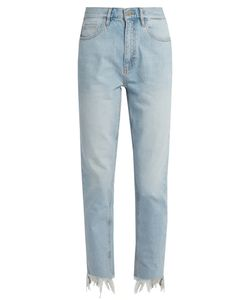 M.i.h Jeans | Mimi High-Rise Straight-Leg Jeans