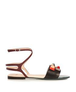 Fendi | Embellished Leather Sandals