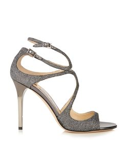 Jimmy Choo | Lang 100mm Lamé Sandals