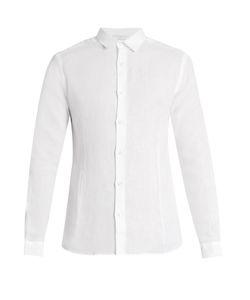 Orlebar Brown | Morton Lightweight-Linen Shirt
