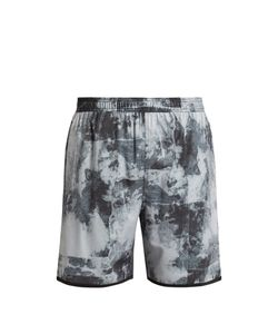 THE UPSIDE | Base Trainer 2.0 Acid-Print Shorts