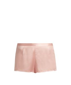 La Perla | Relaxed Silk-Satin Shorts