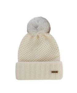 Burberry Prorsum | Fur-Pompom Wool And Cashmere-Blend Beanie Hat