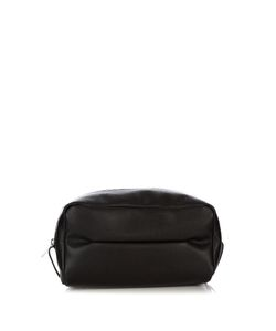 Valextra | Grained-Leather Washbag