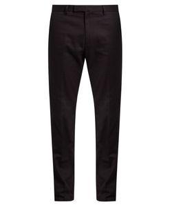 Valentino | Straight-Leg Cotton-Gabardine Chino Trousers