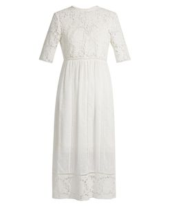 Zimmermann | Caravan Embroidered Cotton Dress