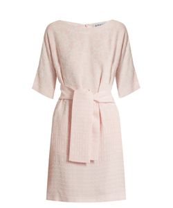 Osman | Hemera Round-Neck Jacquard Dress
