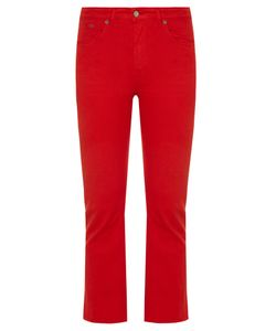 Golden Goose Deluxe Brand | Kick-Flare Cropped Jeans