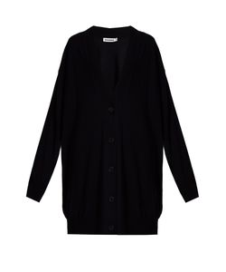 Jil Sander | Long-Line Wool Cardigan