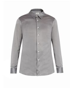 Brioni | Button-Cuff Cotton-Jersey Shirt