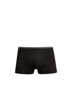 Zimmerli | Pure Comfort Stretch-Cotton Boxer Trunks