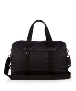 Dolce & Gabbana | Leather-Trimmed Nylon Holdall