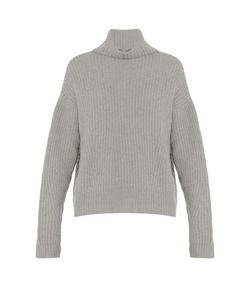 Le Kasha | Verbier Ribbed-Knit Cashmere Sweater