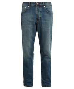 AMI | Mid-Rise Carrot-Fit Jeans