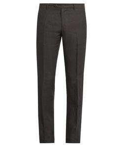 Etro | Straight-Leg Linen Trousers