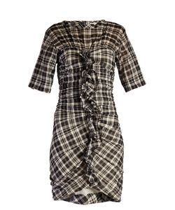 Isabel Marant Etoile | Wallace Checked Mini Dress