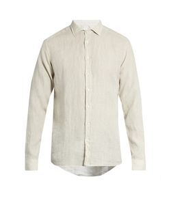Etro | Button-Cuff Linen Shirt