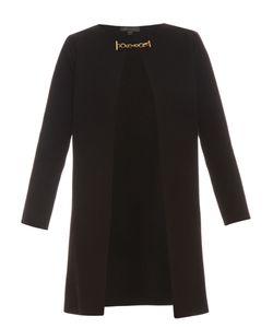 Burberry Prorsum | Collarless Wool And Cashmere-Blend Knit Coat