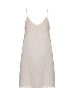Skin | Scoop-Neck Cotton Slip Dress