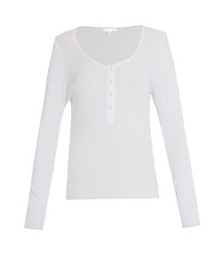 Skin | Long-Sleeved Cotton Pyjama Top
