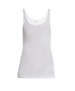 Skin | Scoop-Neck Pyjama Tank Top