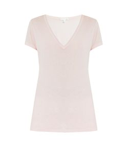 Skin | V-Neck Cotton Pyjama T-Shirt