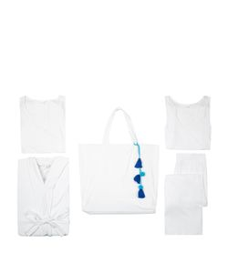 Skin | Ribbed-Cotton Travel Set
