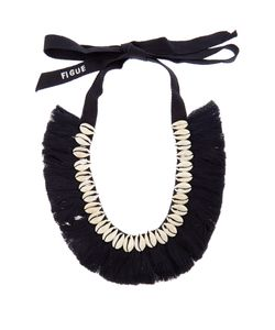 Figue | Shell And Tassel Necklace