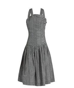 Vivienne Westwood Anglomania | Hali Checked Taffeta Dress