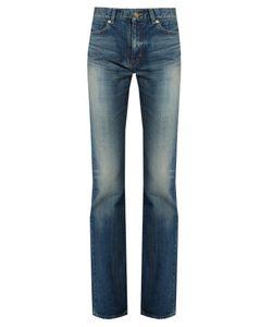 Saint Laurent | Mid-Rise Bootcut Jeans