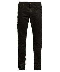 Saint Laurent | Coated Skinny Jeans