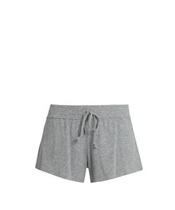 Skin | Drawstring Cotton Pyjama Shorts
