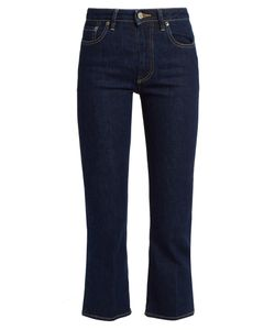 Golden Goose Deluxe Brand | High-Rise Cropped Bootcut Jeans