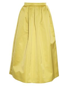 Rochas | Duchess-Satin Midi Skirt
