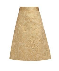RED Valentino | A-Line Brocade Skirt