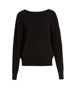 Nili Lotan | Jolie V-Back Cashmere Sweater