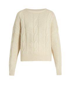Nili Lotan | Felice Cable-Knit Alpaca-Blend Sweater