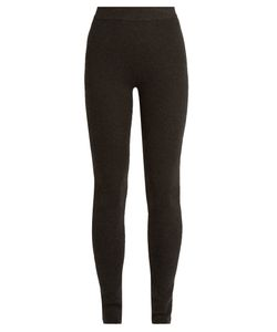 Ryan Roche | Ribbed-Knit Cashmere-Blend Leggings