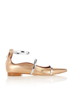 Malone Souliers | Robyn Point-Toe Leather Flats