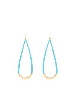 Aurelie Bidermann | And Plated Drop Earrings