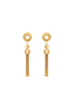 Sylvia Toledano | Pompom Plated Clip-On Earrings