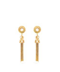 Sylvia Toledano | Pompom Plated Clip-On Earrings